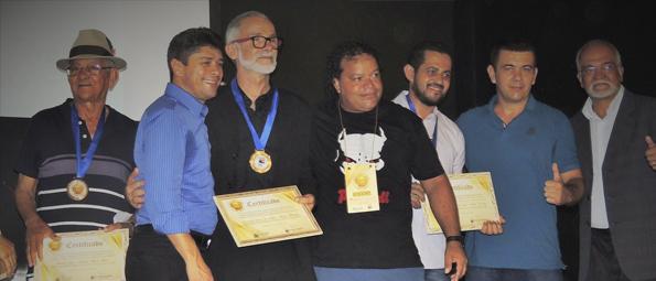 Noite de homenagens no Centro de Cultura de Câmara Municipal de Salvador