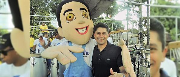 Carreta da Juventude com o vereador Luiz Carlos é destaque na Marcha para Jesus 2017